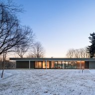 Deborah Berke Partners channels modernism with long and low Indiana house