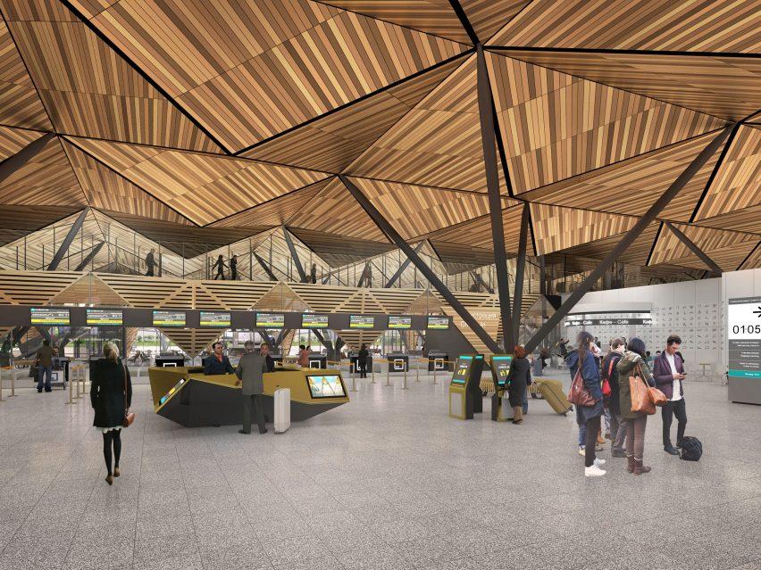 Novy Urengoy Airport by Twelve Architects