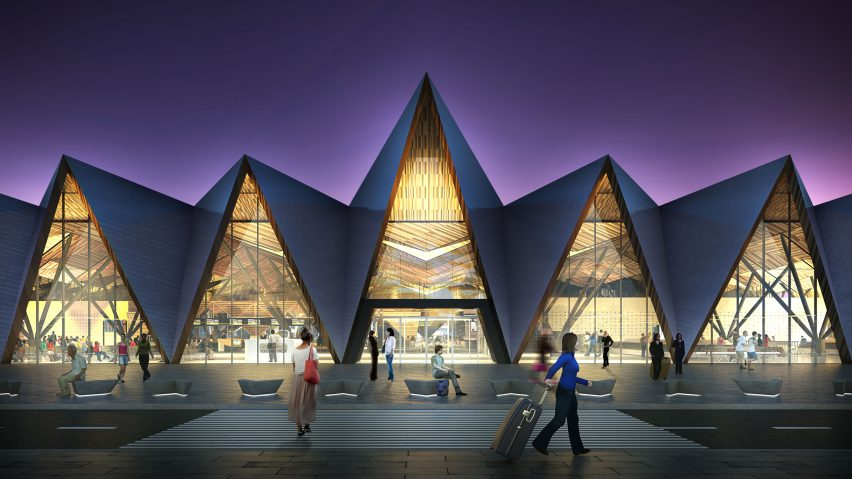 Novy Urengoy Airport by Twelve Architects
