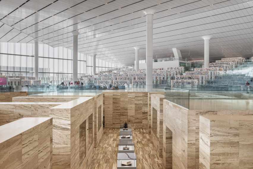 OMA's Qatar National Library opens in Doha