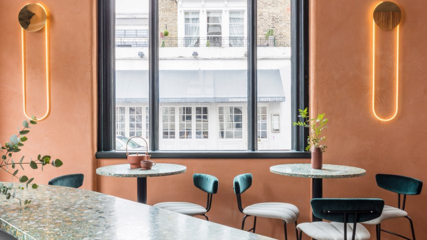 Sella Concept Combines Mediterranean Hues And Textures For London Tapas  Restaurant Omaru0027s Place