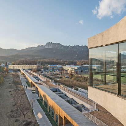 CoRe Architects converts Korean War bunker into community arts centre