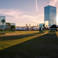 Coachella offers experience with art outside the white gallery, says Phillip K Smith III
