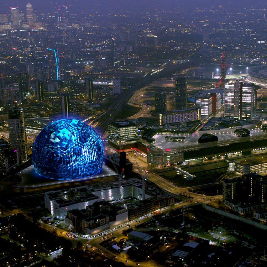 Spherical architecture: Populous MSG Sphere London venue