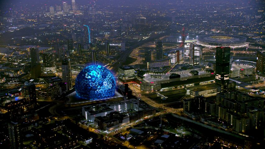 First visuals revealed of spherical London arena designed by Populous