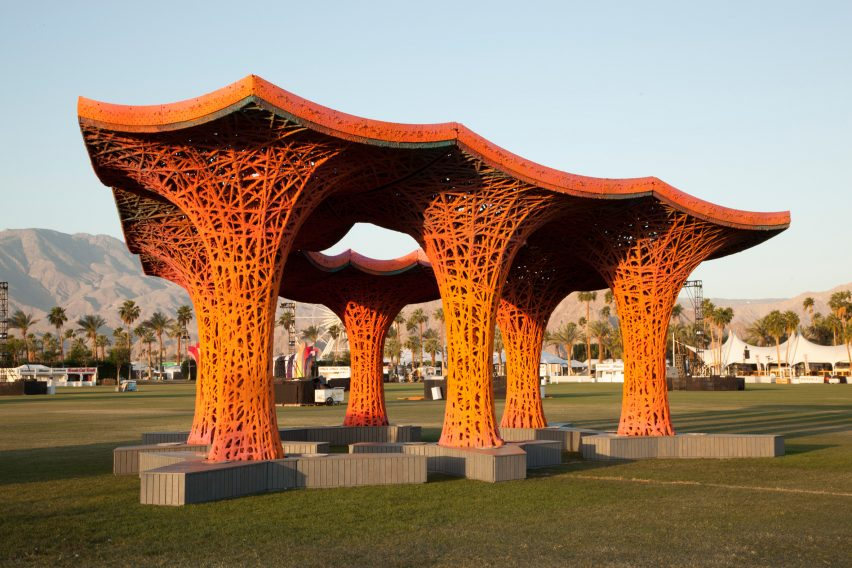 Pulp Pavilion by Ball-Nogues Studio
