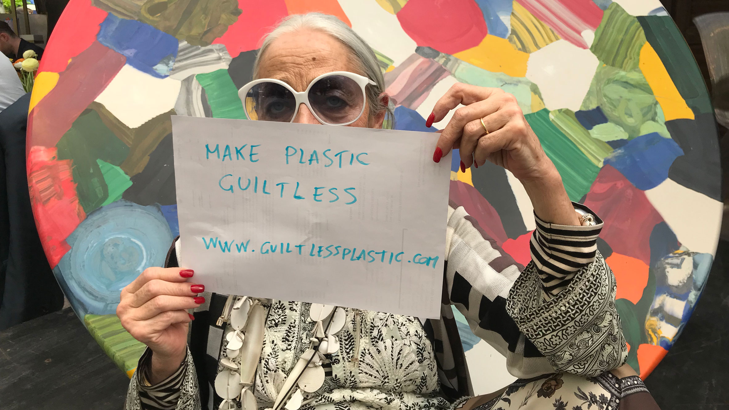 """buy online c33dc aa42c Rossana Orlandi to launch initiative to create """"guiltless plastic"""""""