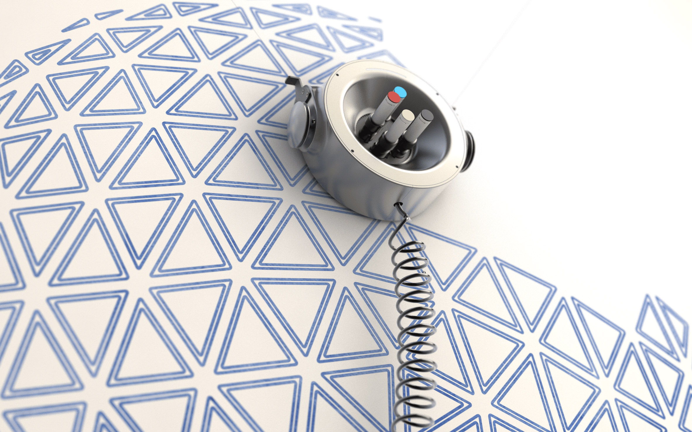 Carlo Ratti's scribing robot turns walls into