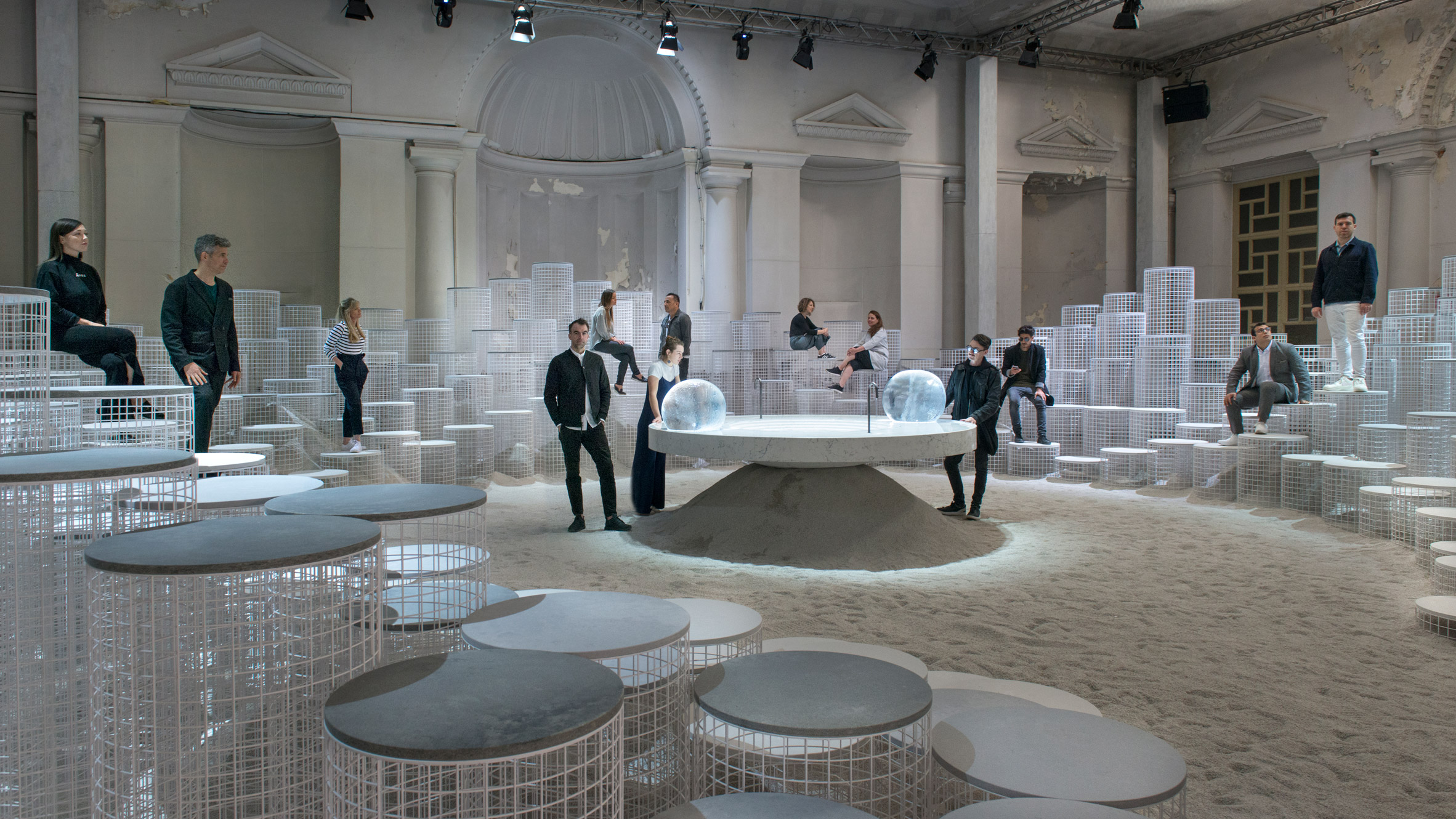 Snarkitecture Looks To The Changing States Of Water For Latest