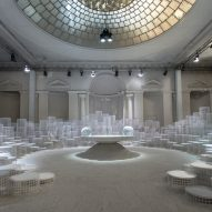 Snarkitecture explores the changing states of water for Caesarstone installation