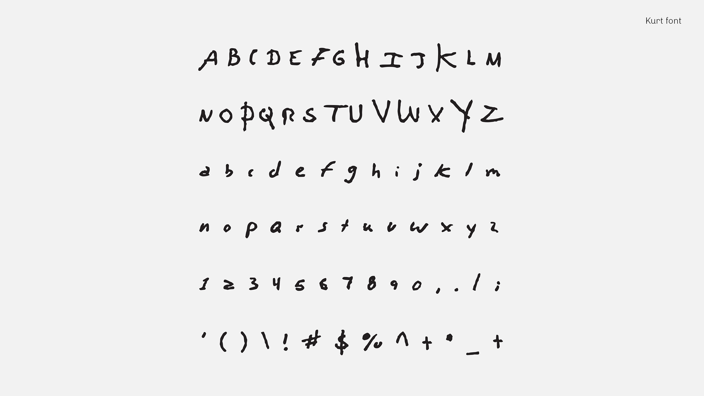 Rock Stars' Handwriting Has Been Turned Into Fonts
