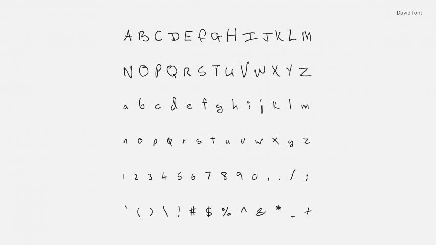 The Designers Plan To Expand Typeface Series Which Available For Free On Their Website Include Other Musicians Including Notorious BIG And