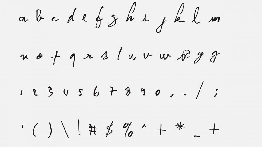 John Lennon's, Kurt Cobain's, David Bowie's Handwriting Available as Fonts