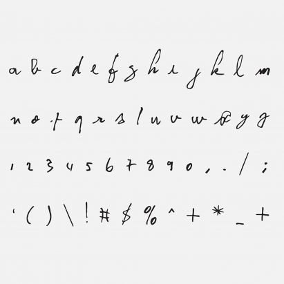 Kurt Cobain David Bowie And John Lennons Handwriting Feature In New Typeface Series