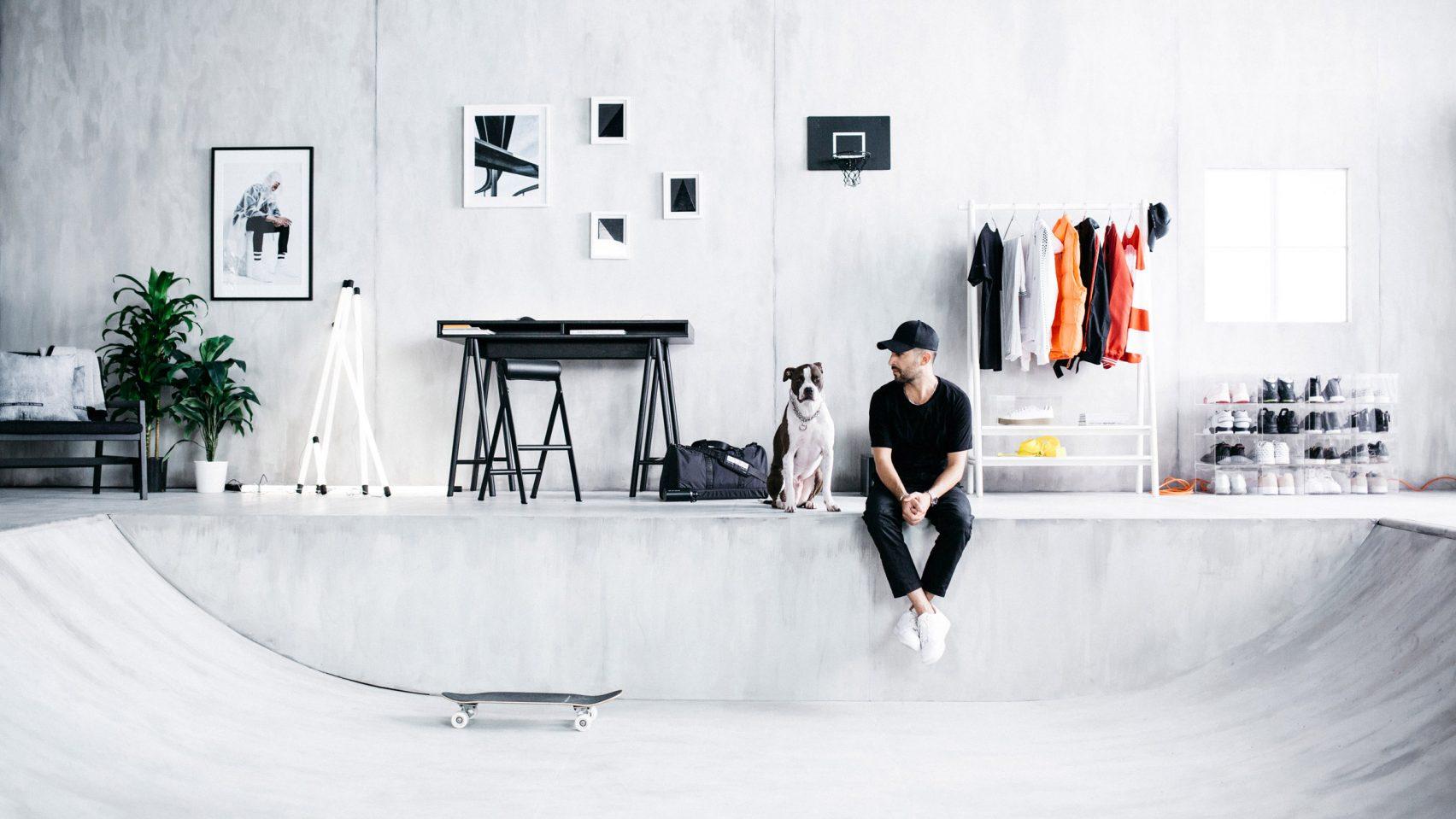Первый скейтборд IKEA