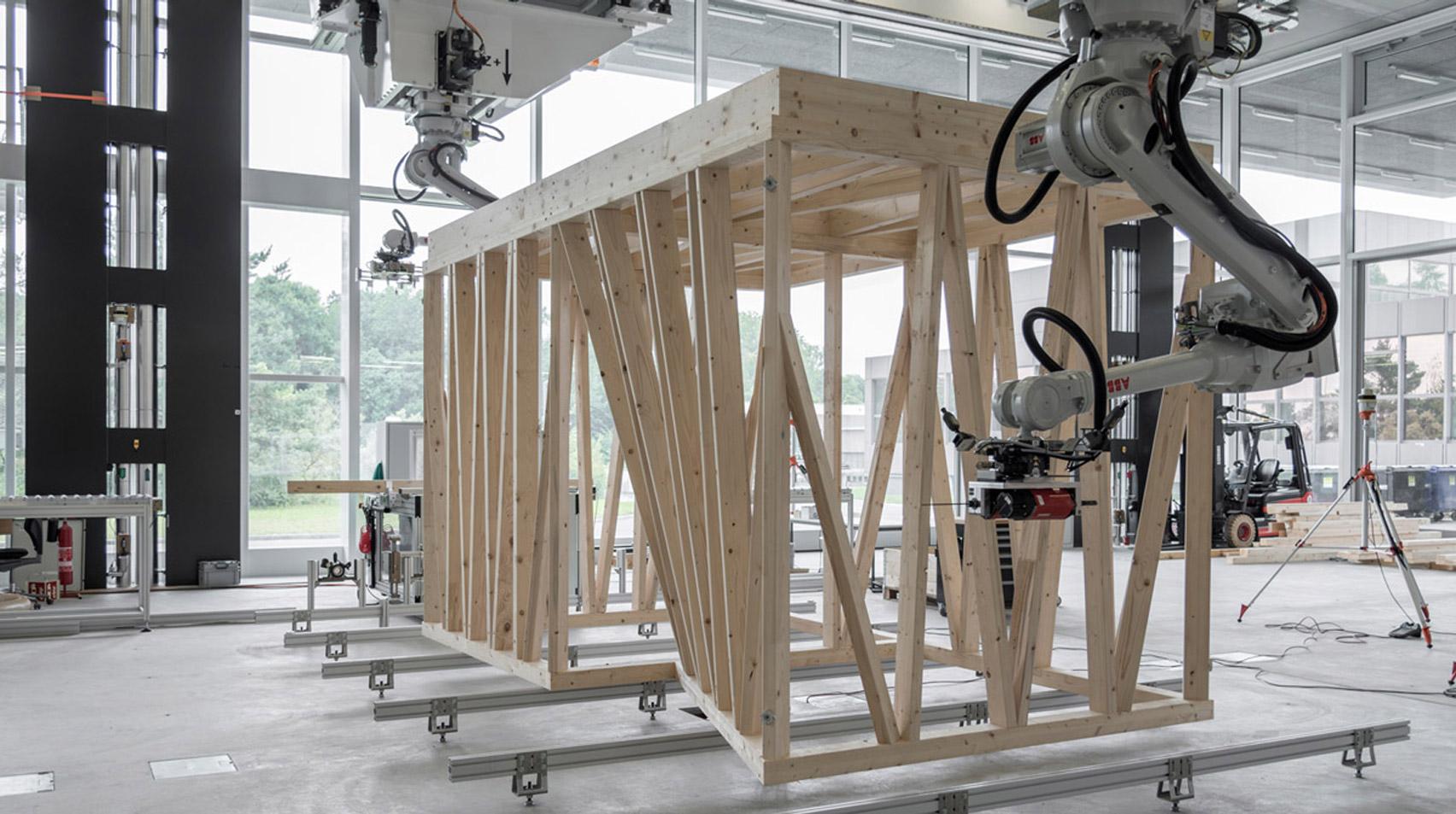 Spatial Timber Assemblies by ETH Zurich