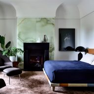 """B.E. Architecture """"rejects stark minimalism"""" with eclectic interior for Melbourne house"""
