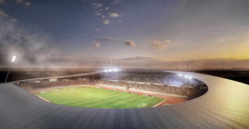 Stade de Yamoussoukro by SCAU