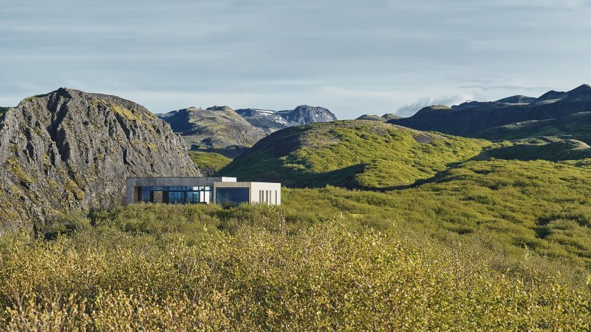 Summerhouse in South Iceland by Gláma Kím