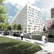 Studio Libeskind designs angular housing for over 60s in Brooklyn