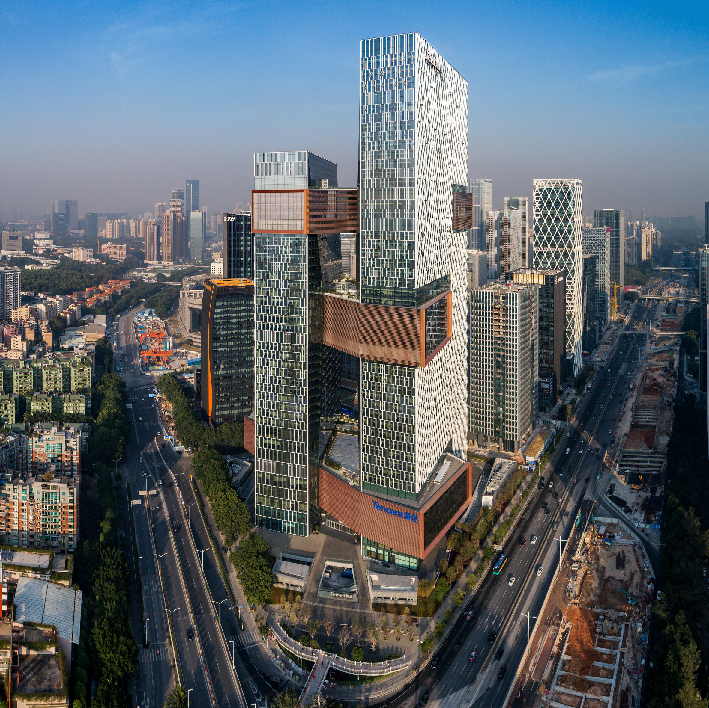 Top 10 skyscrapers: Tencent's Global Headquarters by NBBJ