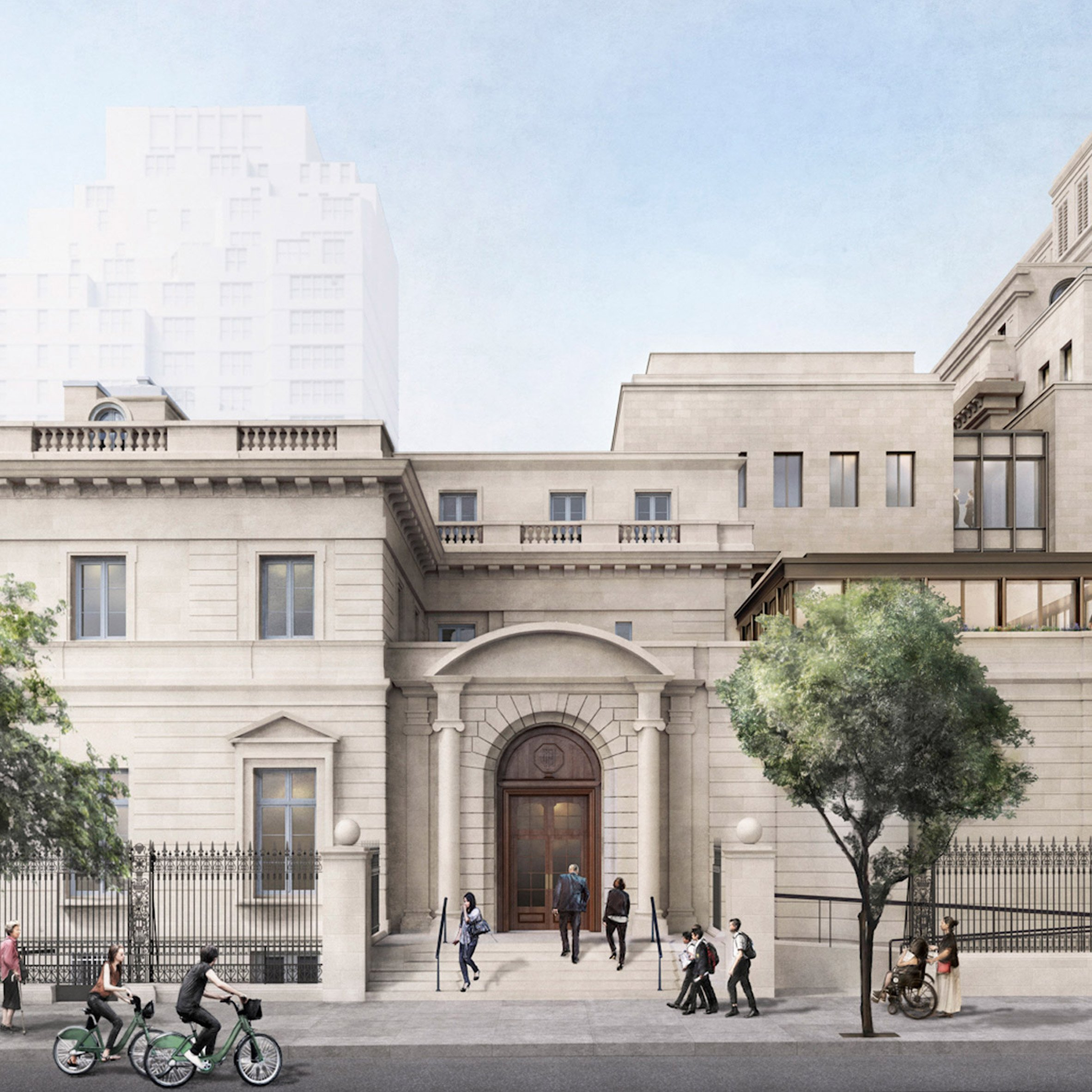 Expansion of New York's Frick Collection gains approval amid protests