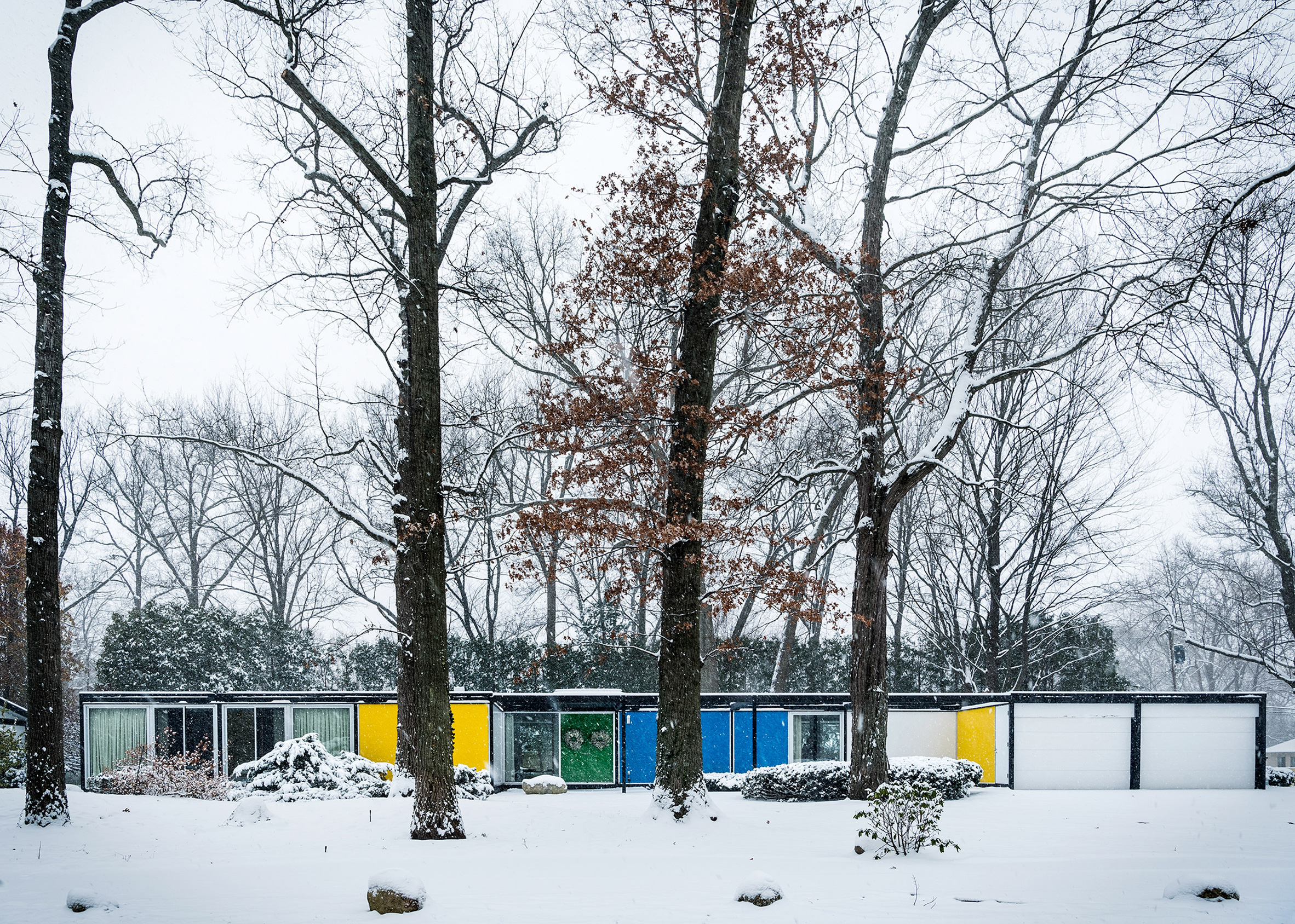 Frost House by Emil Tessin, renovated by Karen Valentine and Bob Coscarelli