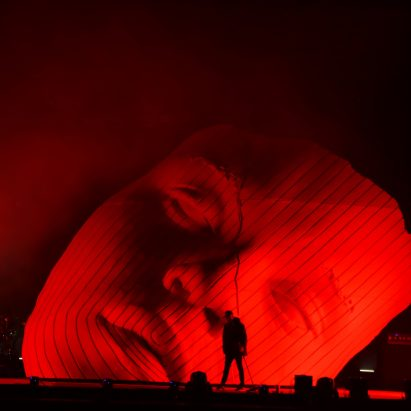 The Weeknd set at Coachella by Es Devlin