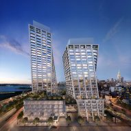"The XI towers in New York will ""dance"" with each other, says Bjarke Ingels"