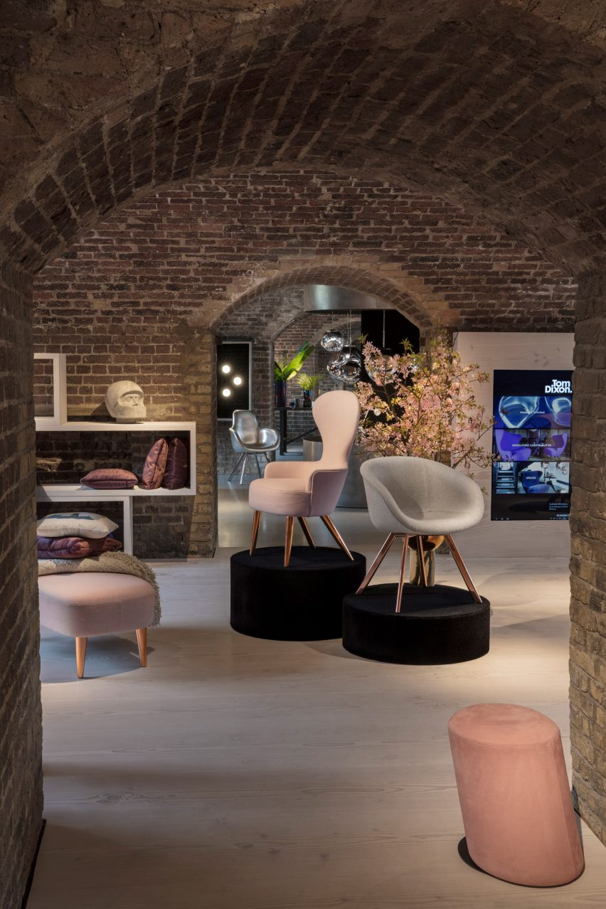 90f28bd6d2a Tom Dixon Coal Office. Along with the new flagship store Dixon recently  opened stores ...