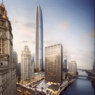 Chicago's second-tallest skyscraper planned beside Tribune Tower
