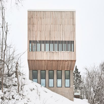 House design and architecture in Norway | Dezeen on storage box houses, cereal box houses, soap stone houses, salt box houses,