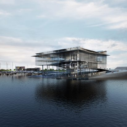 Wadden Sea World Heritage Centre in Groningen by Dorte Mandrup