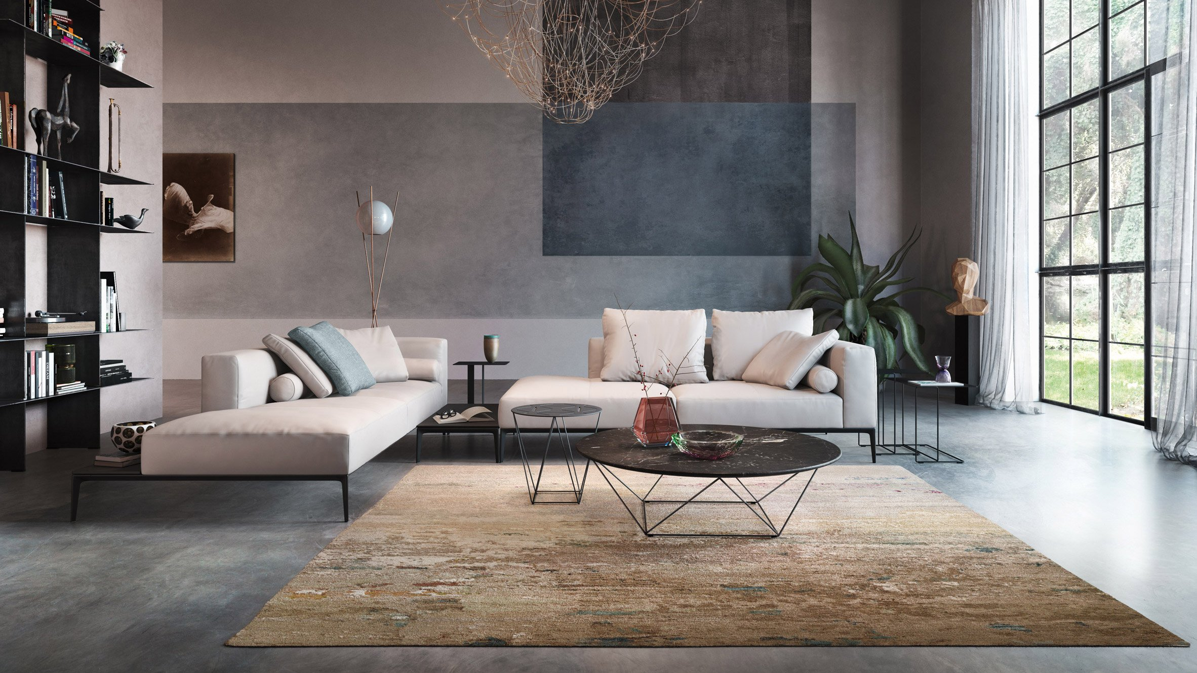 Walter Knoll Walter Knoll Creates Carpet Collection Based