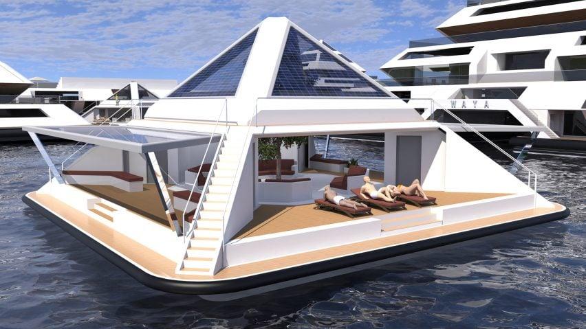 Waya Pyramid by Lazzarini Design