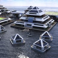 Lazzarini Design wants to build a city of floating pyramids