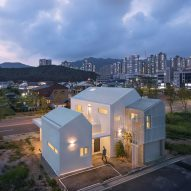 House in Yangsan looks like a cluster of small houses
