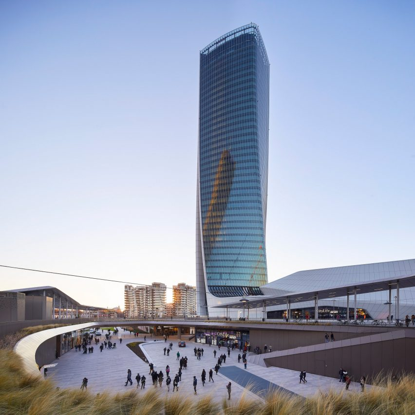 Generali Tower by ZHA