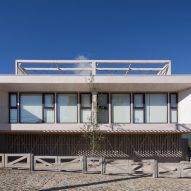 Mobil Arquitectos creates pine-clad holiday dwellings for seaside town in Chile