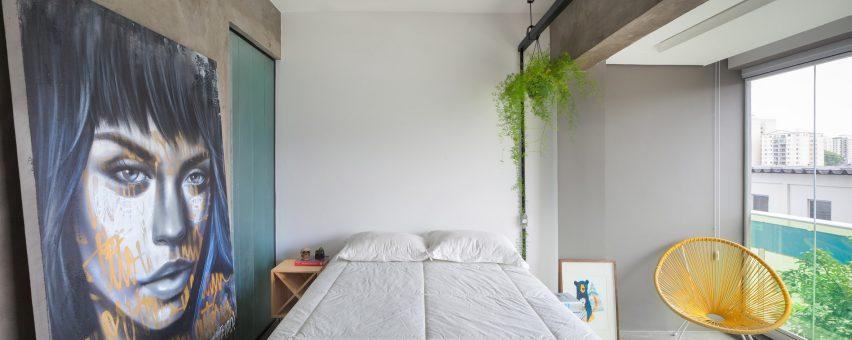Compact Apartment in São Paulo measures 24 square metres