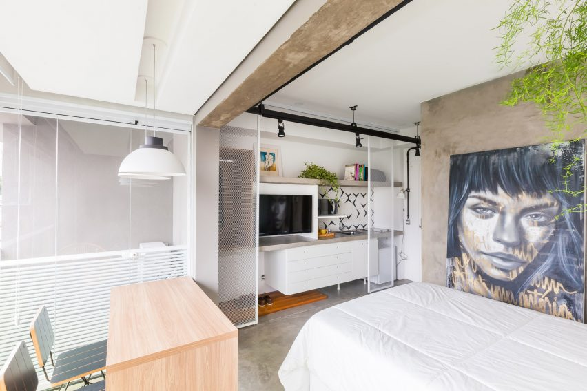 Compact Apartment In Sao Paulo Measures 24 Square Metres