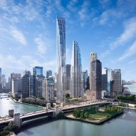 Pair of skyscrapers proposed for site of Calatrava's doomed Chicago Spire