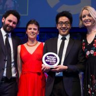 Dezeen wins International Commercial Team of the Year at British Media Awards