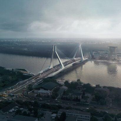 New Budapest Bridge by UNstudio