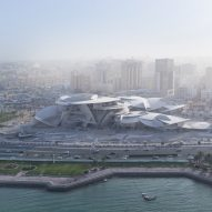Jean Nouvel's National Museum of Qatar nears completion