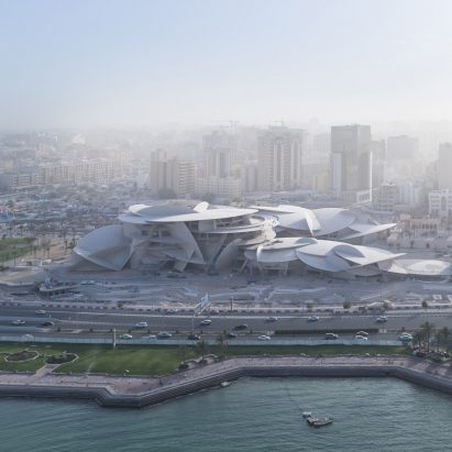 Iwan Baan's photos reveal Jean Nouvel's National Museum of Qatar nearing completion