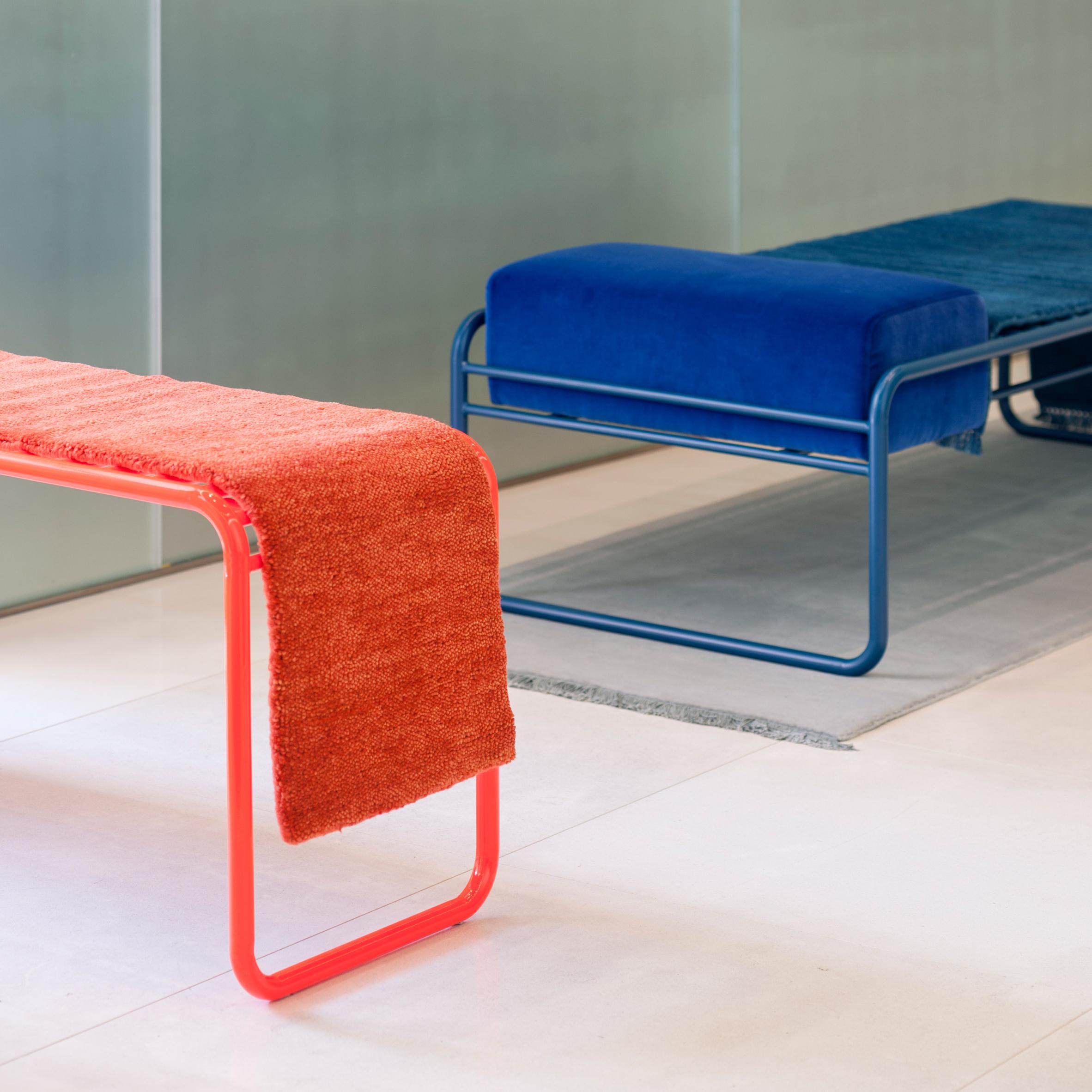 Katrin Greiling turns Kinnsand rugs into furniture