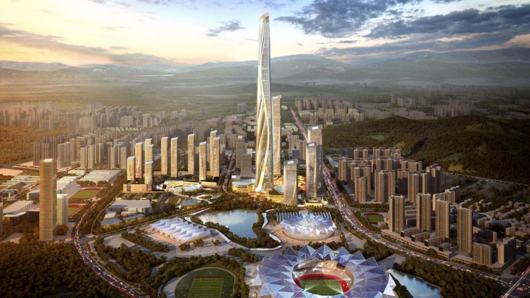Work begins on world\'s second tallest skyscraper in Shenzhen
