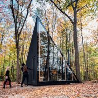 BIG designs prototype tiny cabin in Upstate New York