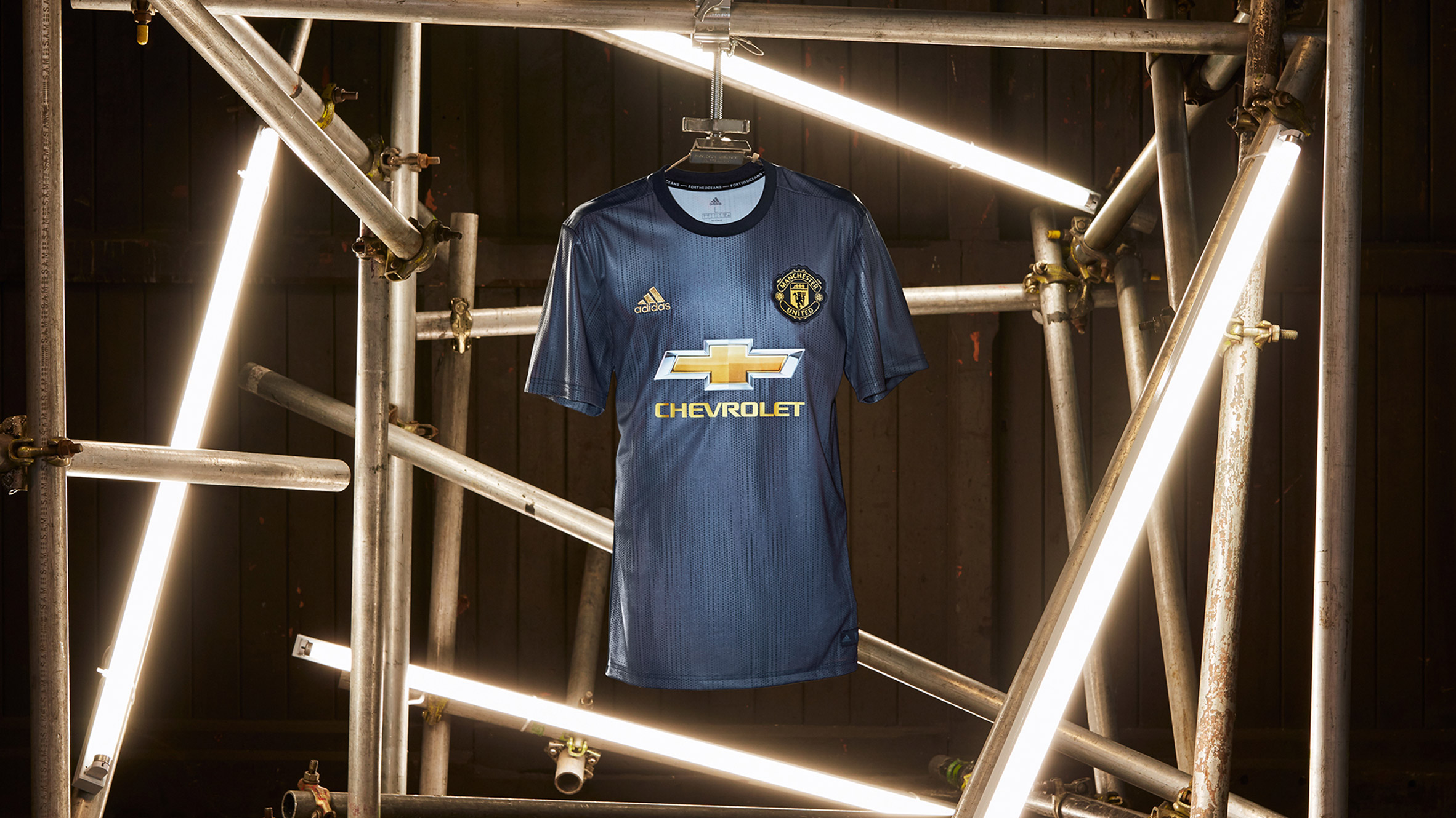 e51ab6a9d Adidas reveals Manchester United third kit made from ocean plastic